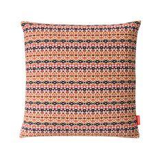 Arabesque Pillow Pink Orange by Alexander Girard   SHOP Cooper Hewitt