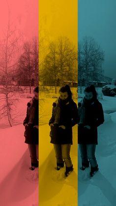 Všade sneh ...#winter ❄❄⛄⛄☁