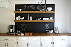 DIY Coffee Bar   Creatively Living