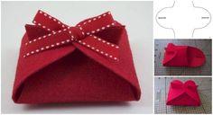 How to DIY No Sew Felt Gift Basket | www.FabArtDIY.com