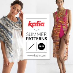10 free crochet patterns to pack in your summer suitcase: Ponchos, shawls, vests, beach wraps, bikinis…easy crochet projects that you can take with you. Crochet Poncho Patterns, Crochet Blouse, Crochet Shawl, Free Crochet, Knit Crochet, Quillow Pattern, Crochet Simple, Easy Crochet Projects, Wrap Pattern