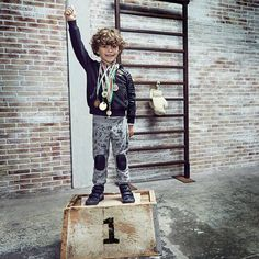 Be always number One ! Fall Winter, Autumn, Replay, Hipster, Punk, Number, Kids, Style, Fashion