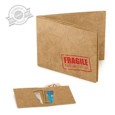Wallet Fragile tyvek - Balvi
