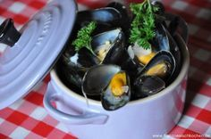 Moules marinières (Muscheln in Weisswein) | Französisch Kochen by Aurélie Bastian