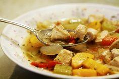 provençal chicken and white bean stew