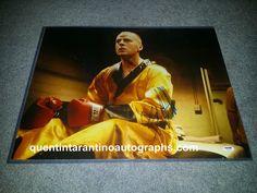 My Quentin Tarantino Autograph Collection: Bruce Willis of Pulp Fiction! Autographs! Photos!