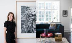 Anne Langkilde skifter sjældent ud i sine møbler, men tæpperne bliver skiftet jævnligt, da det er dem, som krydrer boligen med masser af liv og farver.