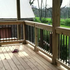 Back deck rail