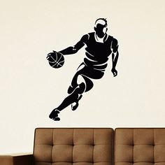 Wall Decal Vinyl Sticker Sport Gym Basketball Player Decor Sb588 ElegantWallDecals http://www.amazon.com/dp/B01209F3A0/ref=cm_sw_r_pi_dp_G6jYvb01CQBKN