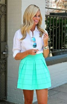 This is a little casual for work, but would work well for outings. I could use some casual skirts!