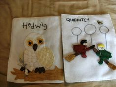 HARRY POTTER QUIET BOOK (with pattern)