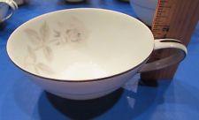 2 Sweet Vintage Noritake Melrose China Teacups w/ 2 Matching Saucers era 1960's
