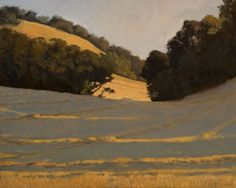 Morning Oaks oil by Peter Campbell 16 x 20 $2,500