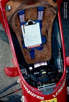 MIchele Alboreto, Ferrari 126C4 @ Monaco Grand Prix 1984
