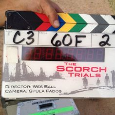 Filming begins on The Scorch Trials