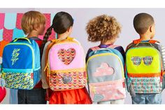 Skip Hop's new kids' backpacks: Not only stylish, but they come with a matching lunch box that fit in the clear window so kids know if they forgot theirs. Smart!