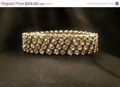 Vintage Rhinestone Expandable Bracelet BR5305 by JewelsAndMyGirls3, $19.20