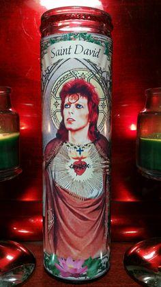 David Bowie Ziggy Stardust in Celebrity Church by WantWishBuy