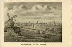 Königsberg (Pr.), Alt-Königsberg, Nach einer Lithographie