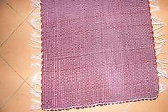 Úžitkový textil - Tkaný koberec do kúpeľne - bordový - 6183636_