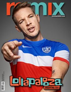 Tapa Remix 208 Lollapalooza 2015 | Diplo (Mayor Lazer)