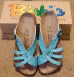 Birkenstocks. i need a new pair! and these ones are a hell of a lot cuter than what i have
