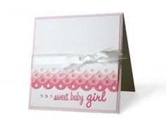 Sweet Girl Letterpressed Card