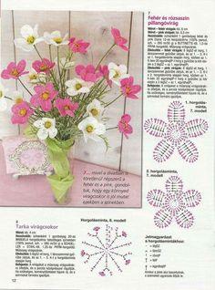 Image gallery – page 600667669021720645 – artofit – Artofit Diy Crochet And Knitting, Crochet Books, Irish Crochet, Crochet Crafts, Crochet Flower Tutorial, Crochet Flower Patterns, Crochet Flowers, Granny Square Crochet Pattern, Crochet Motif