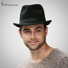 Men Fedora Hat 100% Australian Wool Material Trilby Hats for Male Formal Hat Wool Felt Hat FM027051