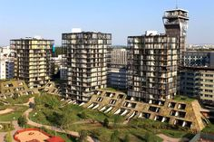 Prague's newest eco building and its impressive #green roof