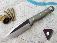 Turley Knives Boonie knife with Thunderbolt option