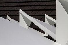 Rose Garden Origami : a custom-designed garden pavillion in Melbourne. Photography by Nic Granleese