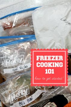 How to Start Freezer Cooking 101! Freezer Meals, Tips and Trick! Great tips for meal planning!