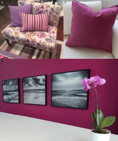 """""""Berry Interesting"""" - Pantone View 2014 trends from the High Point furniture show."""