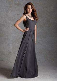 Taffeta Bridesmaid Dress From Angelina Faccenda Bridesmaids By Mori Lee Dress Style 20422 Luxe Chiffon