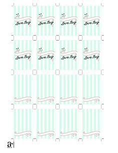 NEW Mini Hand Sanitizer Label DIGITAL Collage Sheet TEMPLATE DiY 8.5 ...