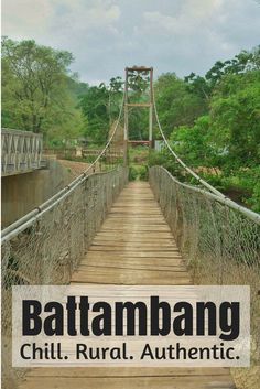 Battambang, Cambodia's hidden gem. Experience life in Cambodia in a spot that doesn't have the shiny new hostels and 17 story hotels. An authentic feel with chilled people in a rural city.