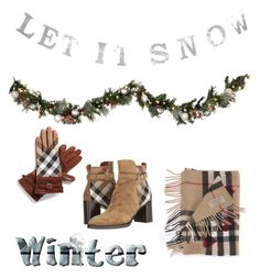 """""""Winter"""" by alwaysseven on Polyvore featuring Burberry and Improvements"""