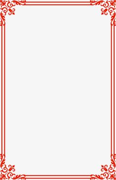 Red line border vector wireframe PNG and Vector Frame Border Design, Boarder Designs, Page Borders Design, Borders For Paper, Borders And Frames, Word 2016, Front Page Design, Picture Borders, Wedding Borders