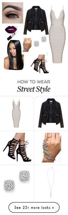 """""""Girls night out """" by yasminet on Polyvore featuring Zizzi, Bloomingdale's, French Connection, women's clothing, women, female, woman, misses and juniors"""