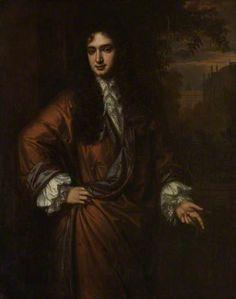 John Wilmot (1647–1680) 2nd Earl of Rochester  by Peter Lely