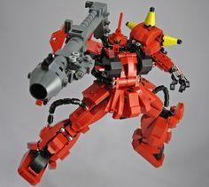 tattun. Lego mech.