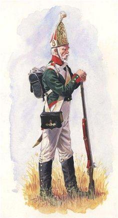 Russian Pavlovski Grenadier