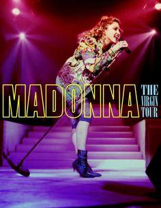 Madonna: The Virgin Tour [Full With Angel, Borderline & Burning Up] Madonna Albums, Madonna Music, Madonna Concert, 1980s Madonna, Still Love Her, Female Singers, Record Producer, Pop Music, 1980s