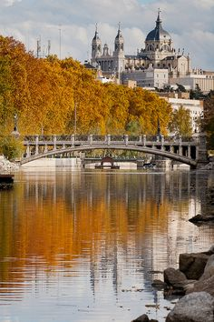 Fall in Madrid, Spain