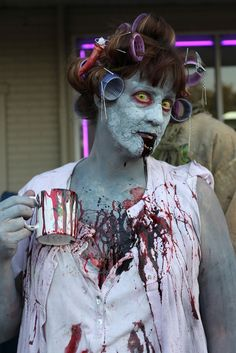 Zombie Walk 2012 by TerribleWendyBird, via Flickr