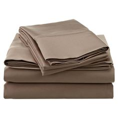 Park Avenue Sheet Set in Taupe at Joss & Main
