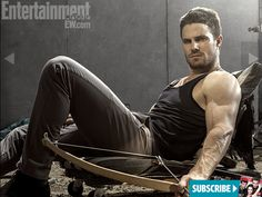 Arrow - Stephen Amell - the show seems tighter so far this year, though Laurel is still super annoying!
