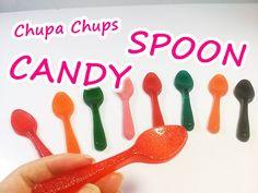 DIY How To Make CHUPACHUPS CANDY SPOON 사탕 스푼 만들기 놀이 장난감 식완