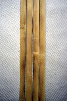 Yumi making: Phase Preparing bow parts – majikkunotecho Yumi Bow, Homemade Crossbow, How To Make Bows, Archery, Bamboo, Diy Projects, Closer, Bow Making, Tack